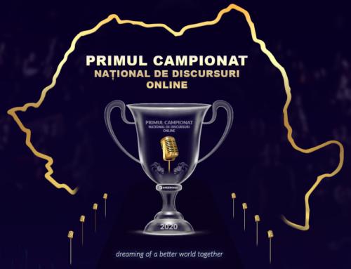 Care e povestea Primului Campionat National de Discursuri Online?