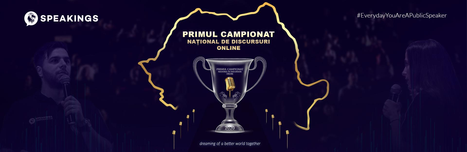 Primul Campionat National de Discursuri Online